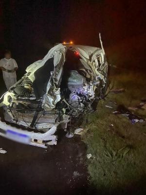 Professora de Mariluz sofre grave acidente