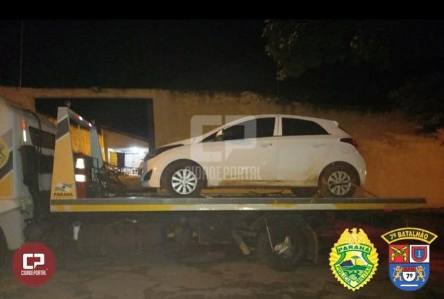 Polícia Militar recupera veículo roubado em Mariluz após denúncia anônima