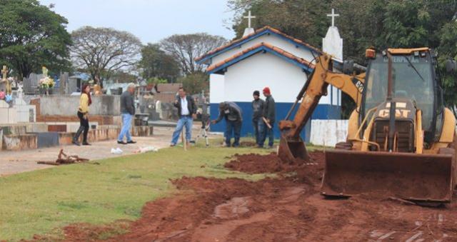 Reforma do Cemitério Municipal São João Batista de Mariluz