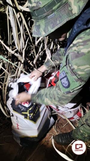 BPFron recupera veículo furtado e apreende drogas em Mariluz