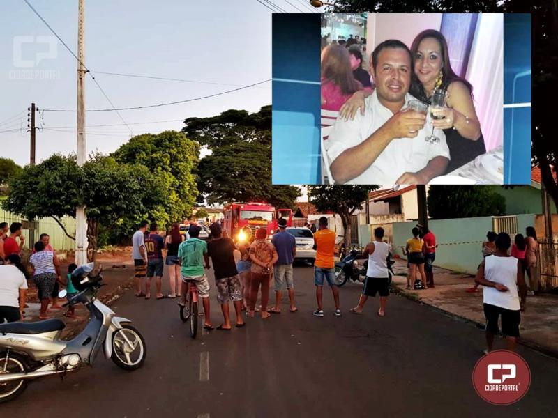 Tragédia: Homem mata ex-esposa, coloca fogo em residência e tira a própria vida no norte do Paraná