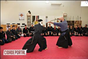 Goioerê reuniu artistas marciais de Bugeiko de diferentes cidades para encontro com seu mestre Kyoshi Federico Dinatale.