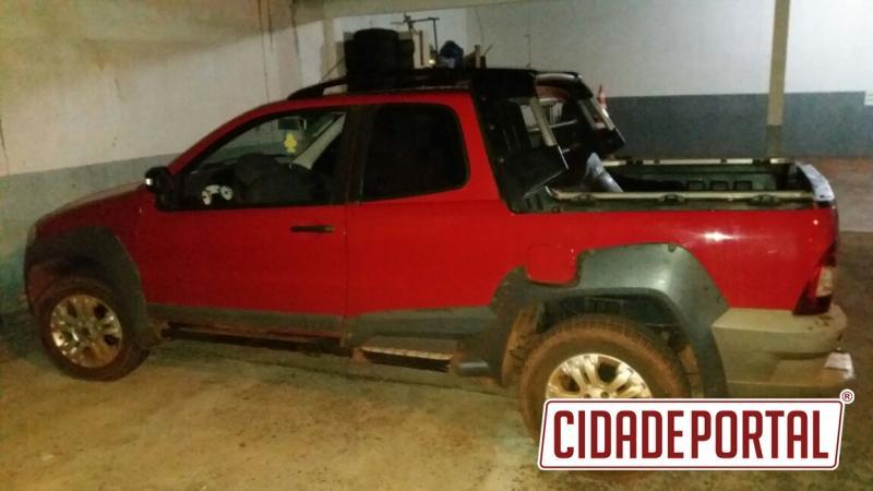 Policiais do 7º BPM recuperam automóvel furtado em Mariluz