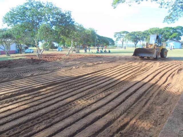 Realizados trabalhos na sede do Assentamento São João em Mariluz