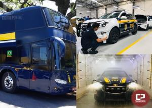 PRF adquire 26 viaturas blindadas no Paraná