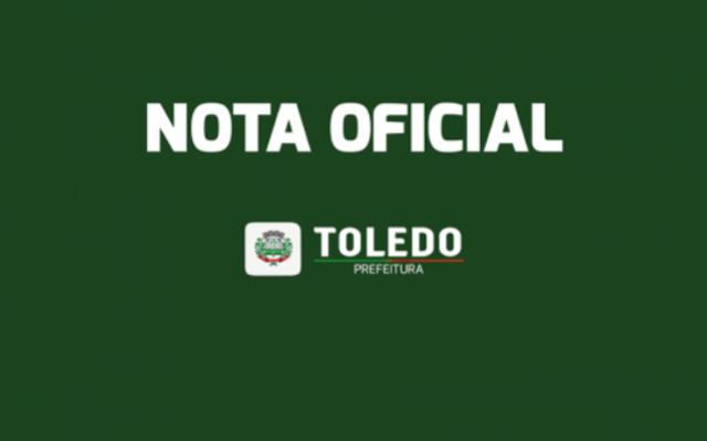 Prefeito de Toledo divulga nota oficial sobre pedido de cassação de seu mandato na Câmara Municipal