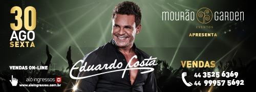 Eduardo Costa, o maior sucesso do sertanejo brasileiro no palco do Mourão Garden