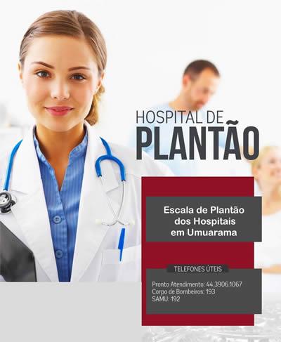 ESCALA DE PLANTÃO DOS HOSPITAIS EM UMUARAMA