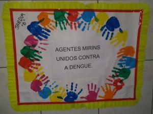 Projeto fora dengue mobiliza crianças de CMEI em Umuarama