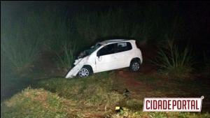 Jovem de 26 anos morre em acidente na madrugada deste domingo, 02, na BR-158 entre Campo Mourão e Peabiru