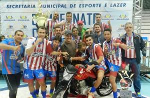 Citadino de Futsal tem número recorde de equipes inscritas em 2107