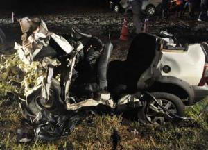 Tragédia na PR 486: Colisão frontal em Alto Piquiri deixa cinco mortos