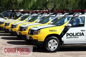 Moraes entrega mais 14 viaturas para as forças policiais do Paraná