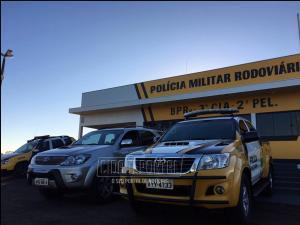 Caminhonete tomada em assalto em Colorado é recuperada através do Posto da Polícia Rodoviária de Iporã