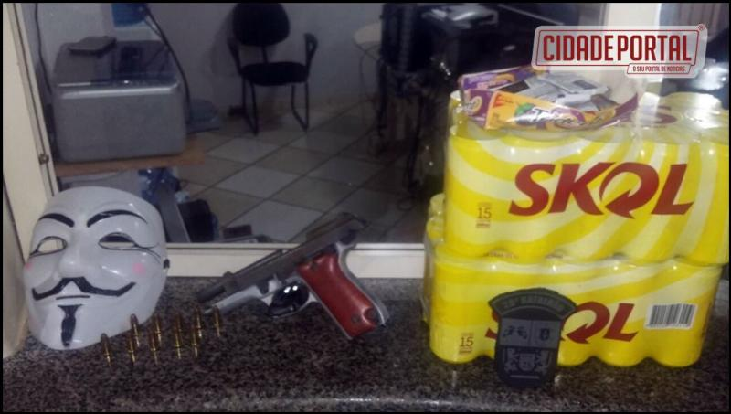 Policia Militar de Umuarama prende suspeitos de roubo a Posto de Combustível em Umuarama