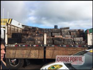 Polícia Rodoviária de Iporã apreende mais de 4,3 toneladas de maconha