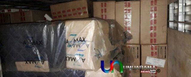 Morador de Cruzeiro do Oeste é preso pela Polícia Federal de Guaíra com carga de cigarros avaliada em R$3 milhões