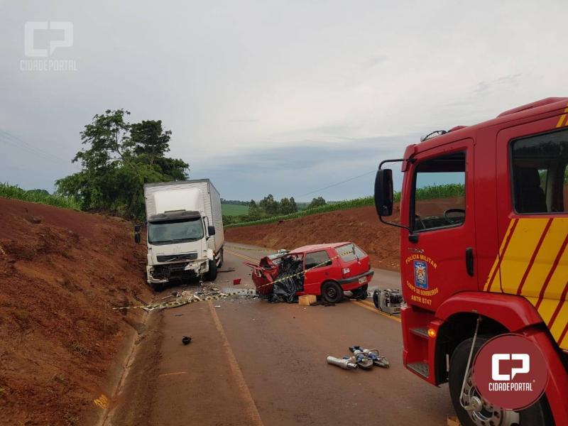 Duas pessoas perdem a vida e duas ficam gravemente feridas entre Marechal C.Rondon e Pato Bragado