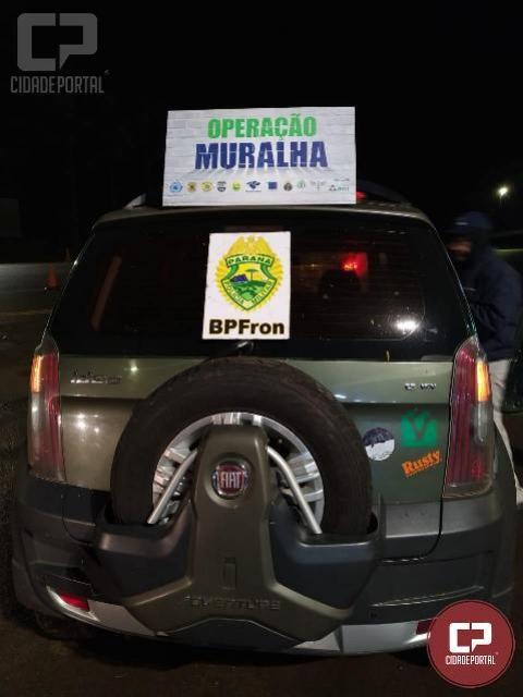 BPFRON recupera veículo roubado na cidade de Santa Terezinha de Itaipu-PR