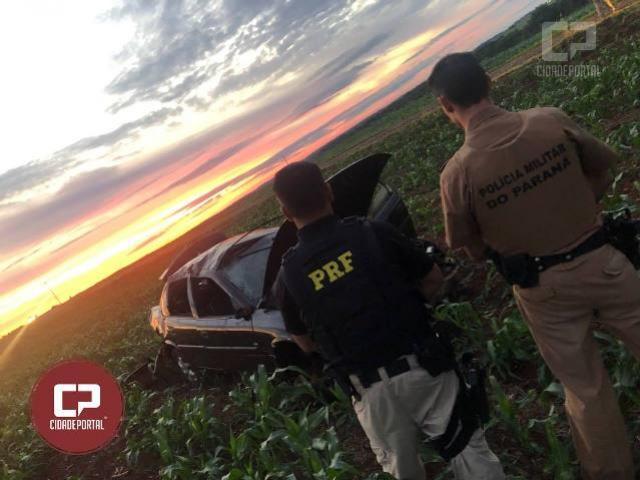 PRF prende homem e apreende mercadorias de contrabando em Santa Terezinha de Itaipu/PR