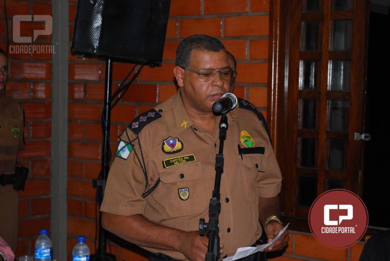 Reconhecimento: Major Milton José dos Santos vai receber Moção de Congratulações