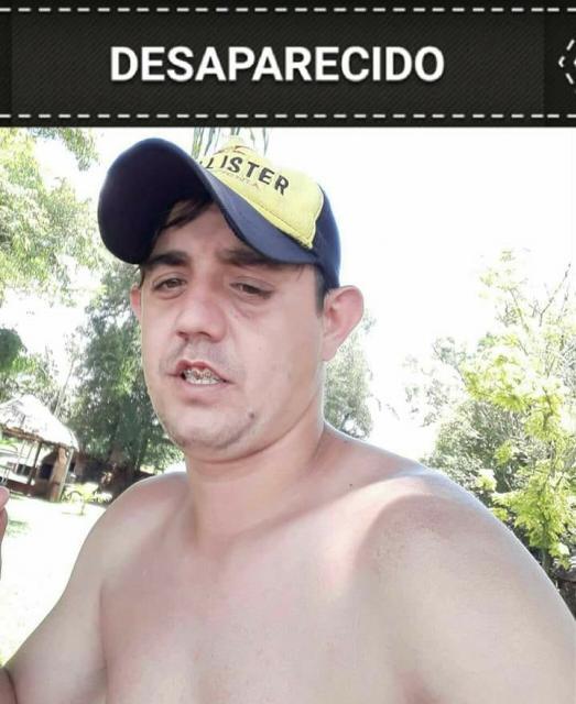 Família de Campo Mourão procura Bruno Aparecido da Silva que esta desaparecido