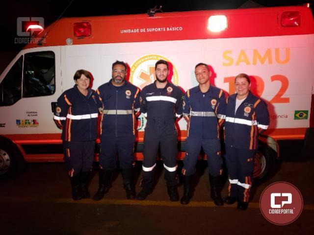 Samu realiza parto de Gestante dentro de Ambulância em Campo Mourâo