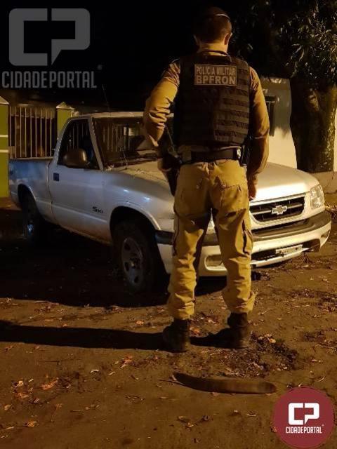 BPFron recupera veículo furtado em Campo Mourão após patrulhamento na cidade de Guaíra-PR