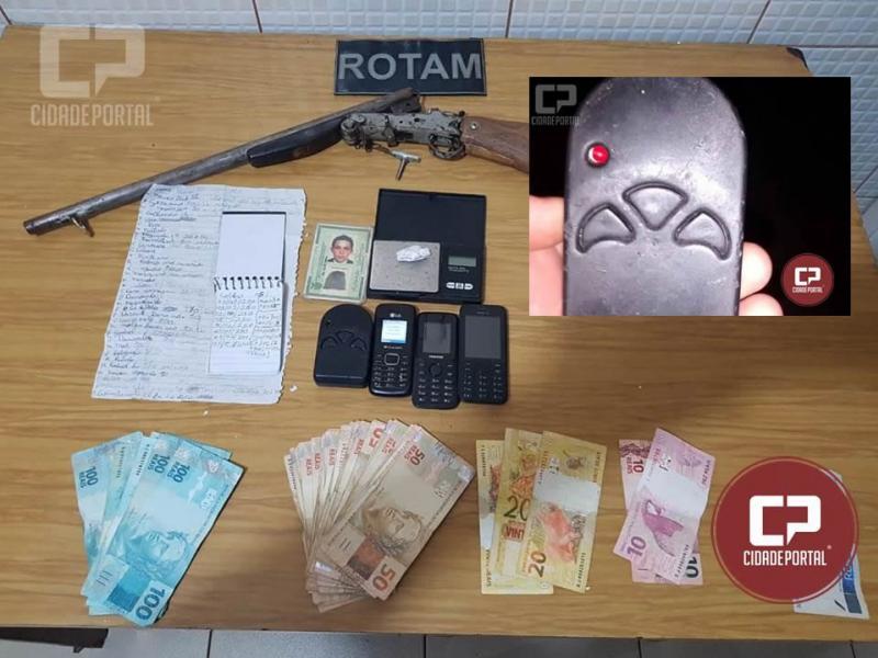 Rotam de campo Mourão realiza prisão e alerta a população para bloqueadores utilizados para furto