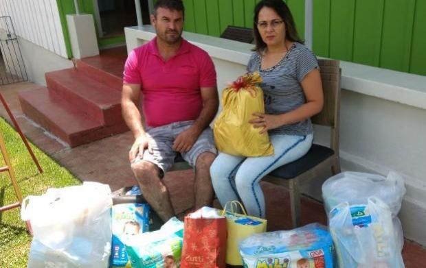 Família da mãe que deu luz à gêmeos após morte cerebral recebe doações