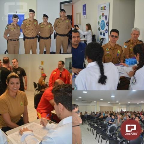 Polícia Militar realiza V Ação de Saúde preventiva em Maringá