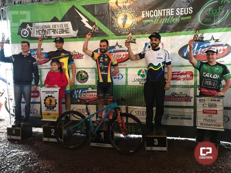 Ciclistas da equipe MTB GOIOERÊ RACING brilham na última etapa do campeonato regional Oeste de Mountain Bike
