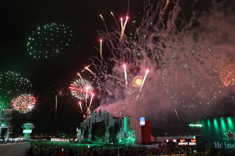 O festival de celebridades no primeiro finde do Rock in Rio