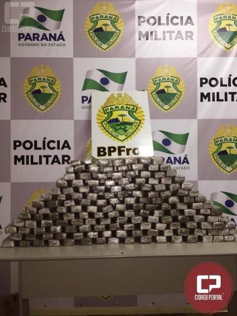BPFron apreende entorpecentes na cidade de Guaíra/PR