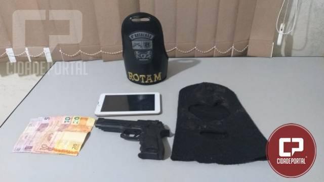 Polícia Militar prende indivíduo por roubo em Paiçandu