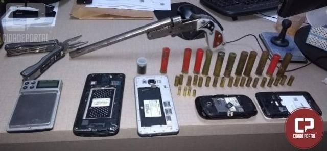 Operação Policial apreende armas e munições na cidade de Sarandi e Marialva