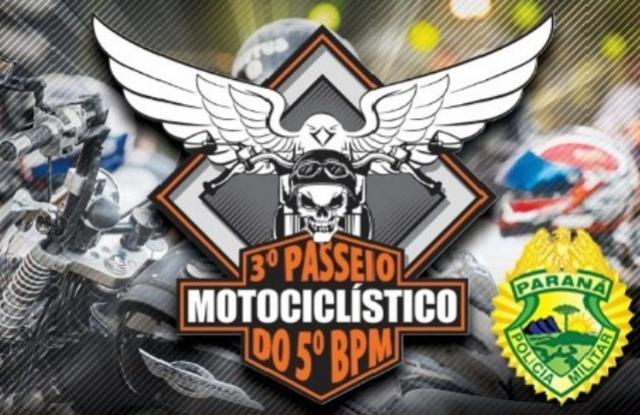 3° Passeio Motociclístico do 5° Batalhão da Polícia Militar de Londrina