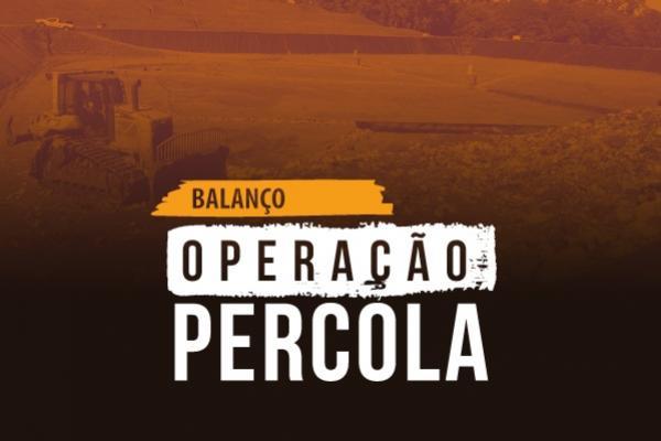 Operação Percola resulta na aplicação de R$ 600 mil em multas