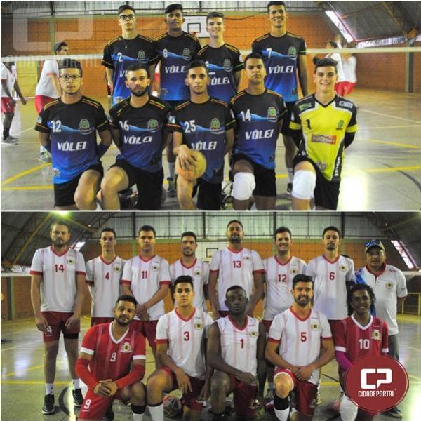 A medalha de ouro no Voleibol Masculino será disputada entre Campo Mourão x Ubiratã