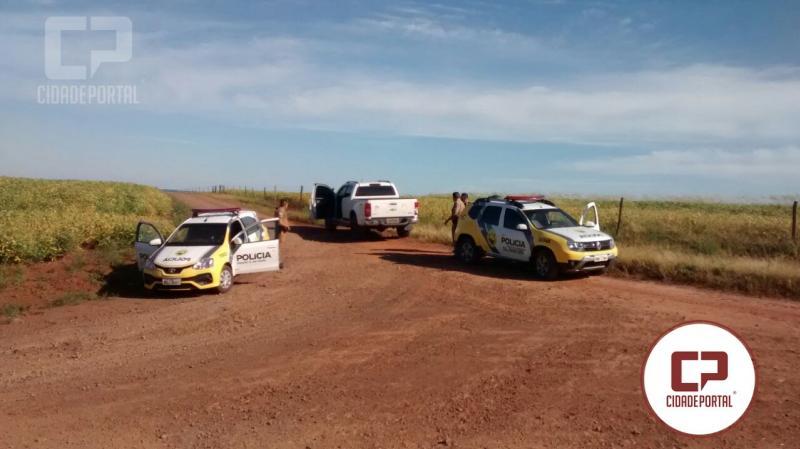 Banco Sicredi de Rancho Alegre foi alvo de assalto, bandidos usaram caminhonete roubada em Goioerê