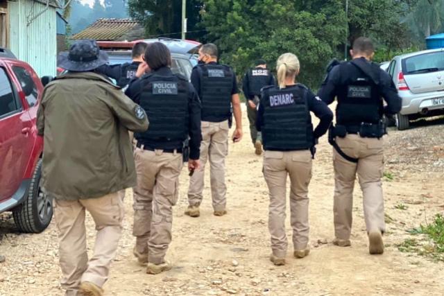 PCPR prende 13 integrantes de organização criminosa envolvida no tráfico de drogas em Curitiba e RMC