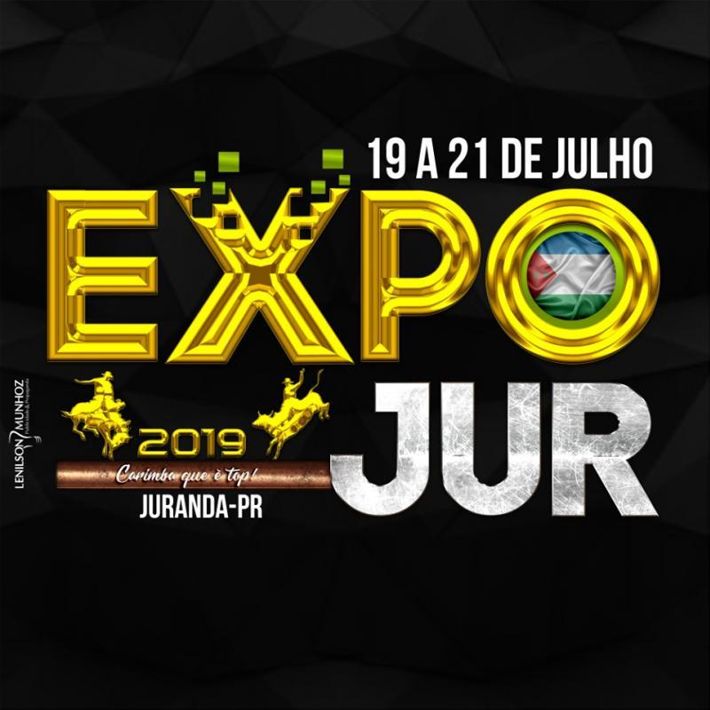 Abertura da Expo-Jur 2019 será nesta sexta-feira, dia 19
