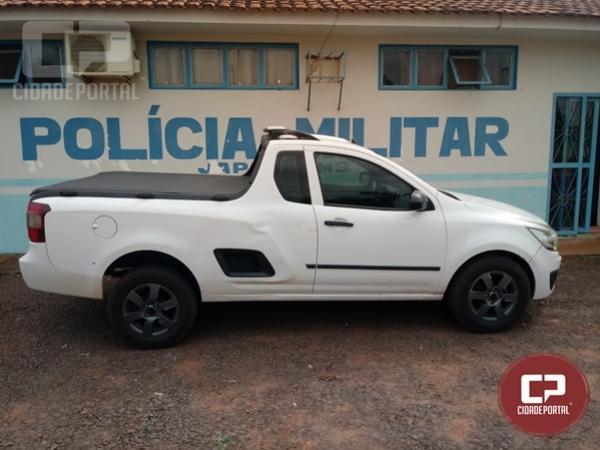 Veículo roubado na cidade de Francisco Alves é recuperado pela Polícia Militar de Japorã