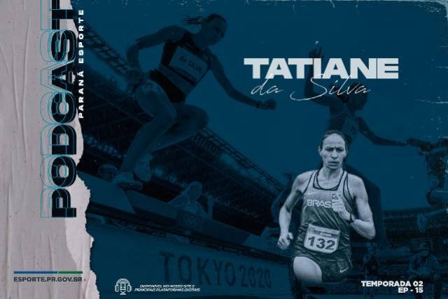 Recorde nacional dos 3.000 metros com barreira, Tatiane Raquel levou o nome do Paraná a Tóquio