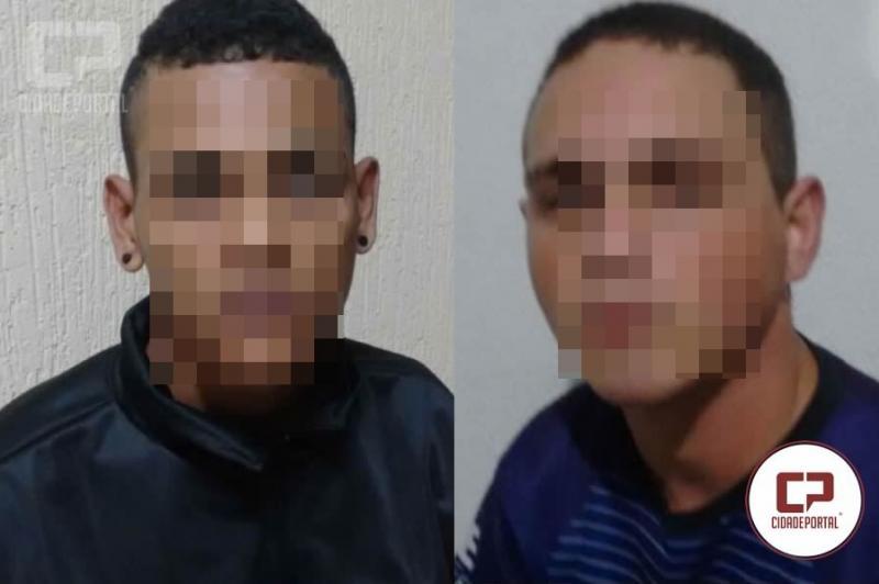 Polícias Militares do 7º BPM recuperam veículo momentos após o roubo em Goioerê