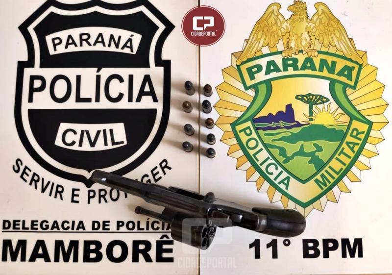 Polícia prende autor de tentativa de homicídio no Distrito de Guarani
