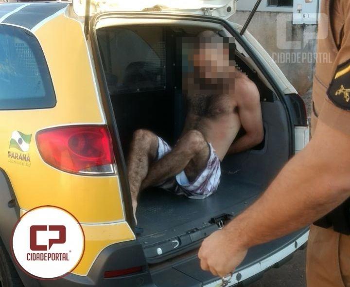 Operação do serviço de inteligência do 7º BPM e Policiais de Moreira Sales prendem o ultimo foragido da cadeia de Goioerê