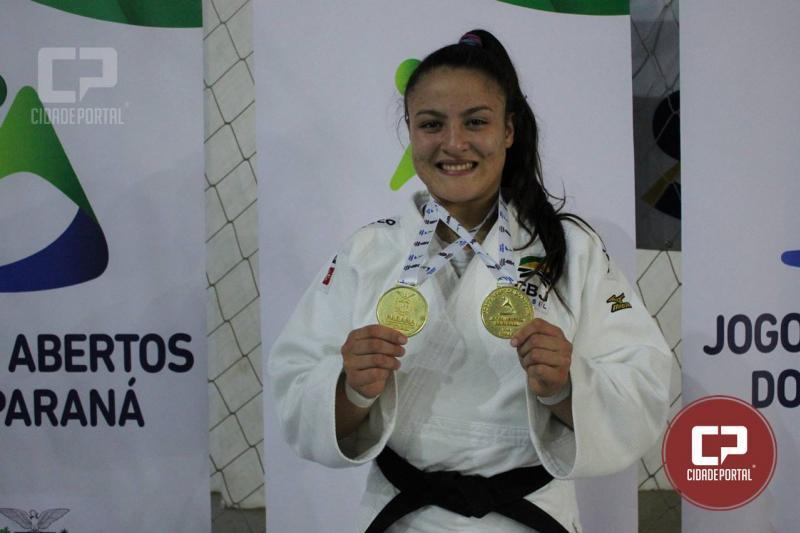 Bruna Bereza é campeã na categoria -70kg no judô da edição 61ª dos Jogos  Abertos do Paraná