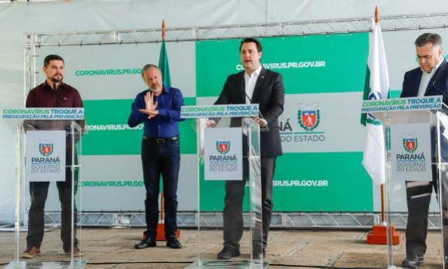 Governo amplia estrutura hospitalar para pacientes do novo coronavírus