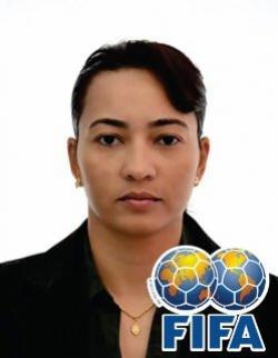 Arbitra de Goioerê, Edina Alves a caminho da Copa do Mundo 2019